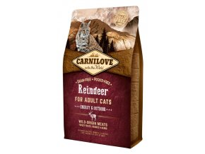 Carnilove Reindeer Adult Energy Outdoor 6 kg