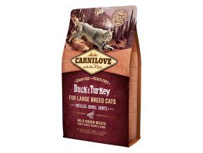 Carnilove Duck Turkey Adult Large Breed 400 g