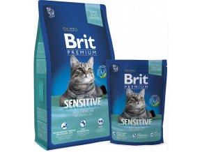 Levné granule pro citlivou kočku