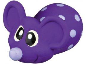 Latexová myška plněná 8 cm - hračka pro psy