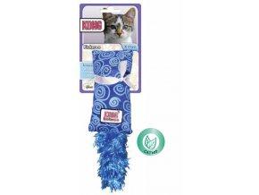 Kong Kickeroo pytlík s ocáskem plný šanty kočičí MALÝ MODRÝ šustící