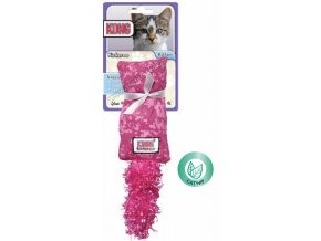 Kong Kickeroo pytlík s ocáskem plný šanty kočičí MALÝ RŮŽOVÝ šustící