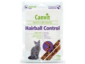 Canvit Snacks Hairball Control - pamlsek pro kočky 100 g