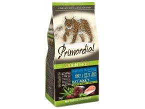 granule pro kočky s lososem a tuňákem