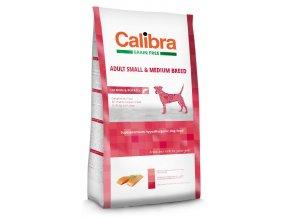 Calibra Dog Grain Free Small Medium Salmon 12 kg