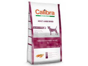 Calibra Dog Grain Free Adult Large Breed 12 kg  + časopis Calibra zdarma