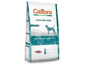 Calibra Dog Grain Free Senior Small Breed 7 kg