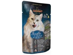 Leonardo pstruh s catnipem - kapsička pro kočky 85 g