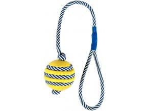 Vrhací míč fosforeskující - hračka pro pejsky