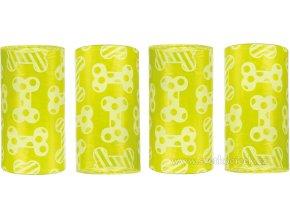 Sáčky s citronovou vůní na psí venkovní produkty - 4x20 ks
