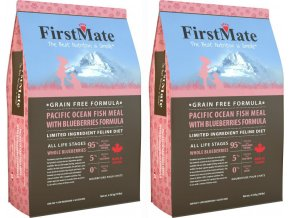 FirstMate Cat 2x Ocean Fish 4,54 kg