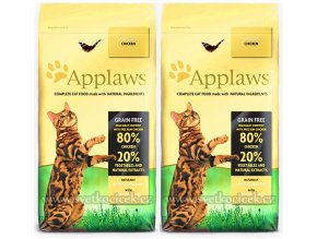 Applaws Cat Adult Chicken 2x 7,5 kg