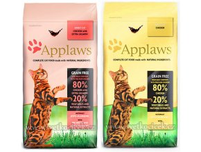 Applaws Cat Adult 7,5 kg Chicken + Chicken and Salmon