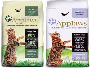 Applaws Cat Adult 7,5 kg Duck + Lamb