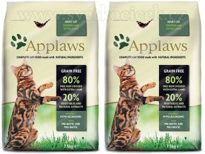 Applaws Cat Adult Chicken and Lamb 2x 7,5 kg