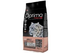 Optima Nova pro kočičky s lososem