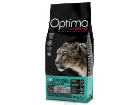 Optima Nova Cat Sterilised 400 g