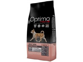 Optima Nova Dog Adult Mini Sensitive GF Salmon 2 kg