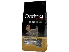 Optima Nova Dog Adult Mini GF Chicken 8 kg