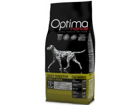 Optima Nova Dog Adult Digestive GF Rabbit 12 kg