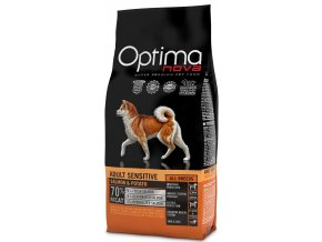 Optima Nova Dog Adult Sensitive GF Salmon 12 kg