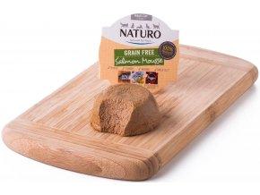 Naturo Adult Cat Salmon Mousse - vanička pro kočky 85 g