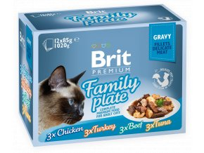 Brit Premium plate gravy
