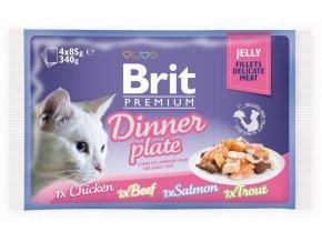 brit premium dinner plate jelly
