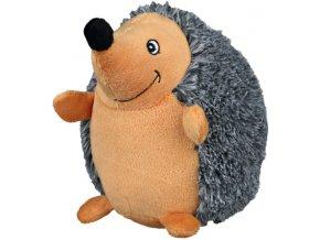 Plyšový ježek s úsměvem 17 cm BEZ ZVUKU