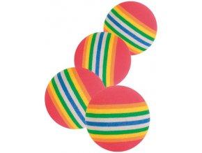 Duhové míčky Rainbow 3,5 cm - 4 ks v balení