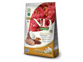441 50 ND Quinoa 2.5kg All Adult Dog SKIN&COAT QUAIL [3D Front+Right]