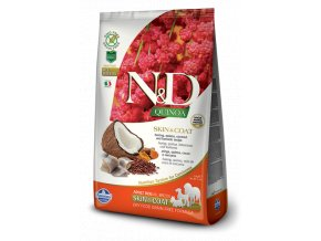 440 17 ND Quinoa 2.5kg All Adult Dog SKIN&COAT HERRING [3D Front+Right]