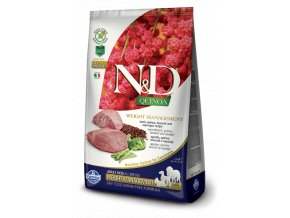 444 36 ND Quinoa 2.5kg All Adult Dog WEIGHT MANAGEMENT [3D Front+Right]