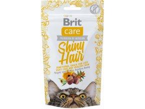 Brit snack shiny hair4