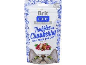 Brit snack truffles cranberry