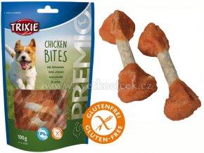 Premio Chicken Bites Light 100 g - kuřecí špalíčky bez cukru a lepku