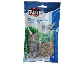 Tráva pro kočku v sáčku Trixie - 100 g