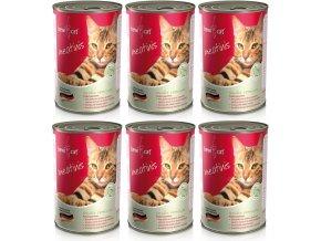 výhodné balení konzerv pro kočky