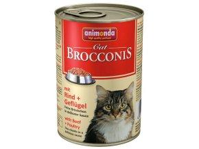 Animonda Brocconis hovězí a drůbeží - konzerva pro kočky 400 g