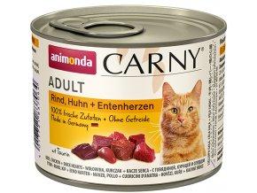 kachní srdce konzerva pro kočky