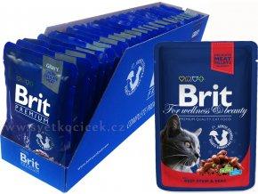 Brit kaps premium 24ks beef+