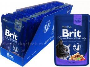Brit kaps premium 24ks cod fish+