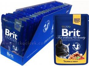 Brit kaps premium 24ks salmon2+