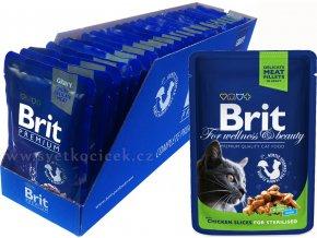 Brit kaps premium 24ks sterilised+