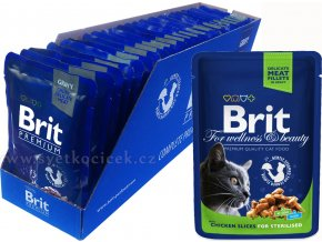 Brit kaps premium 24ks sterilised+