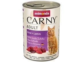 masové konzervy carny pro kočky