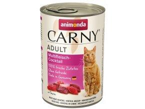 konzerva masový koktejl pro kočku