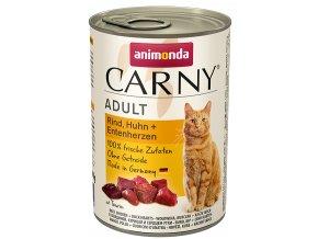 konzerva s kachnou pro kočky