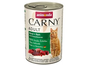 konzerva se zvěřinou pro kočky