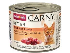 telecí konzerva pro kotata